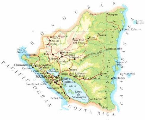 About Nicaragua | Nicaragua Real Estate Aurora