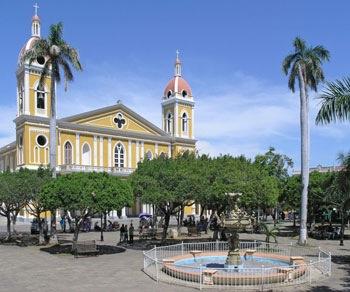 colonial Granadain Nicaragua
